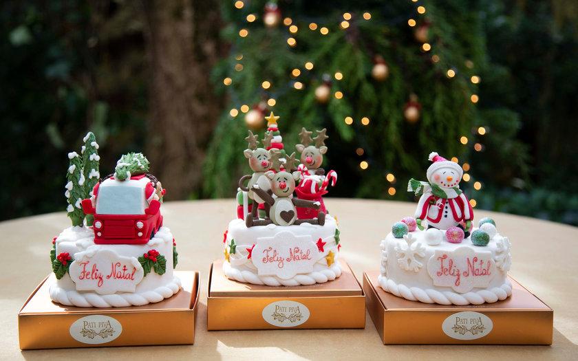 Christmas Cake Pati Piva