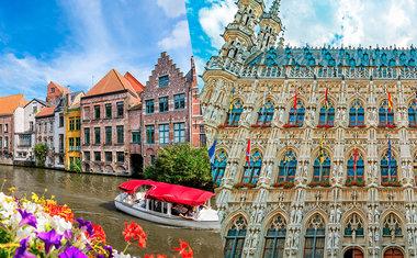 7 cidades para conhecer na região de Flanders, norte da Bélgica