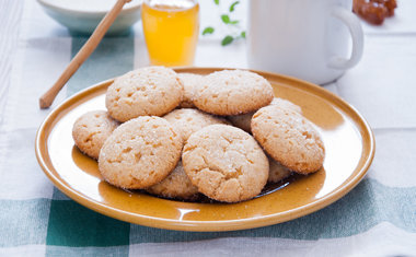 Cookie de quinoa e mel