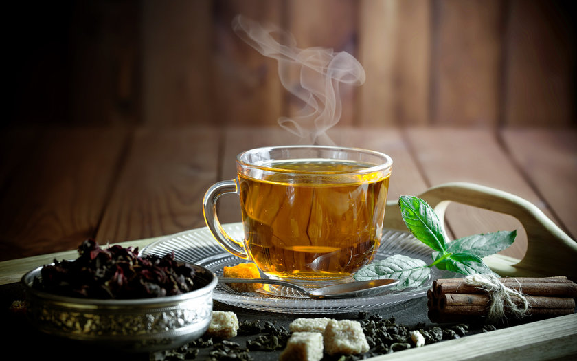 Descanse o chá