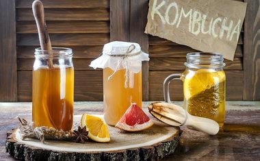 Refrigerante por Kombuchá