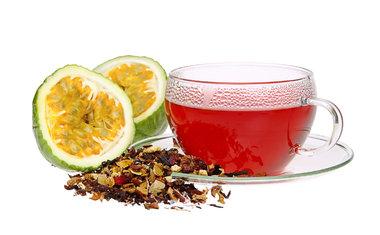Chá de casca de maracujá