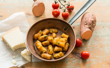 Nhoque de batata doce