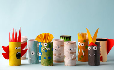 10 ideias de atividades criativas para curtir com as crianças em casa
