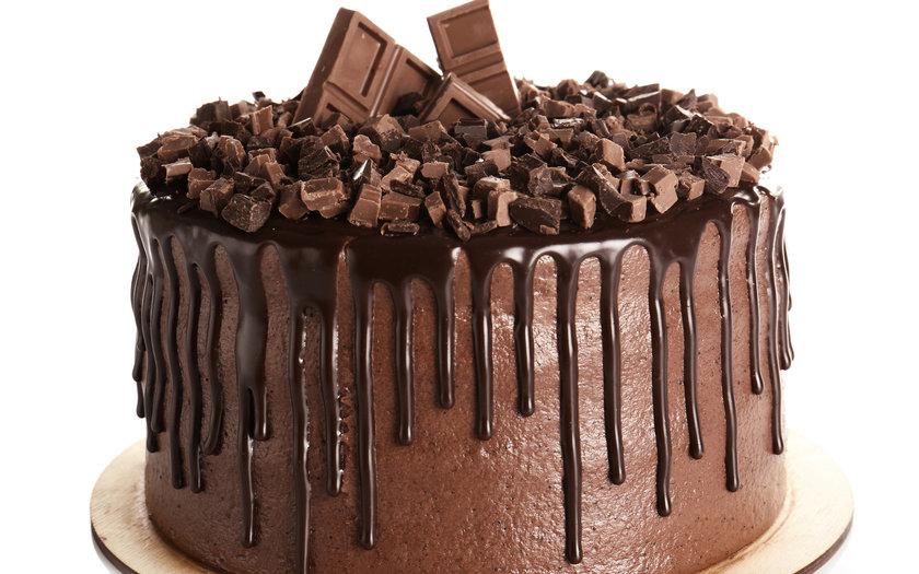Bolo de Chocolate com Bis