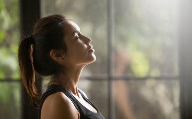Faça exercícios de respiração