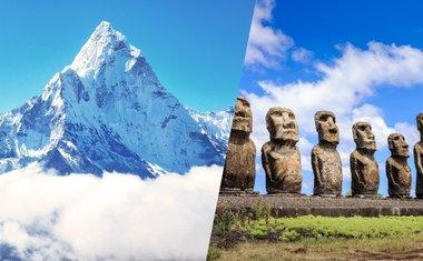 Tour virtual: 10 lugares extremos ao redor do mundo para ver online