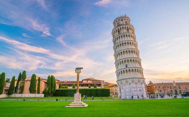 Torre Inclinada de Pisa, Itália