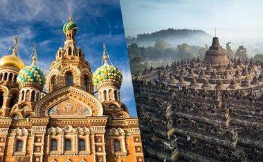 13 templos e igrejas ao redor do mundo para visitar de forma online
