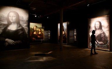 Exposição digital de Leonardo da Vinci no MIS Experience conta com áudio-guias e imagens em 360º; saiba tudo!