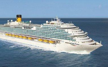 Costa Cruzeiros abre vendas para roteiros do Costa Firenze, mega navio inspirado na cidade de Florença