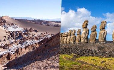 Tour virtual: 9 atrações turísticas no Chile para ver online