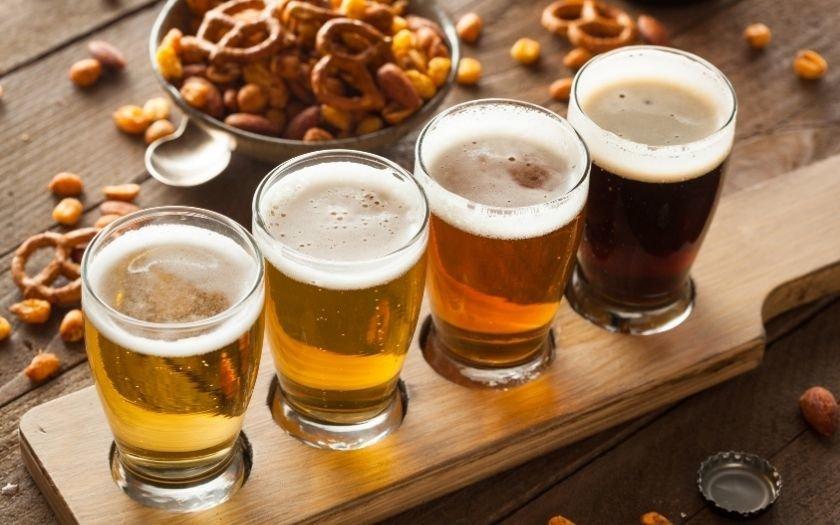 Degustação de cervejas artesanais