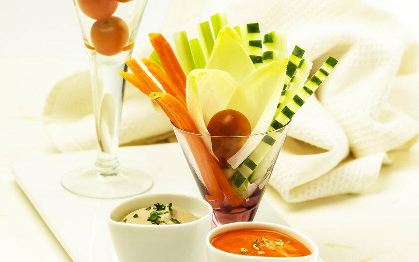 Λαχανικά ωμά λαχανικά