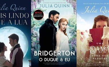 6 séries de livros de Julia Quinn, a autora de Bridgerton, para ler o quanto antes