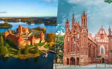 Tour virtual: 8 atrações incríveis na Lituânia para ver online
