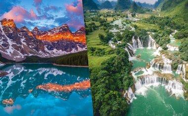 15 lagos e cachoeiras ao redor do mundo para ver online