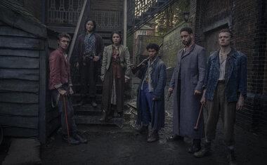 Os Irregulares de Baker Street - Netflix