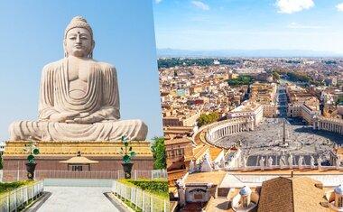 10 destinos religiosos ao redor do mundo para ver online
