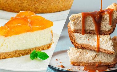 20 receitas de cheesecake que vão te surpreender
