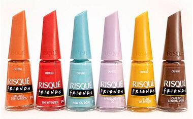 Risqué lança esmaltes inspirados na série 'Friends'; saiba mais!