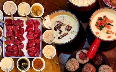 De vegana a carnes nobres, Chalezinho aposta em cinco novas fondues para o inverno 2021