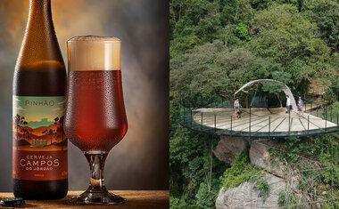 Parque da Cerveja Campos do Jordão tem mirante com vista 180° da Serra da Mantiqueira, saiba tudo!