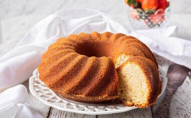 10 receitas de bolo sem açúcar que vão te surpreender pelo sabor