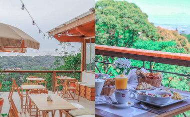 Conheça o Frutta & Crema, restaurante italiano com vista para a Serra da Cantareira