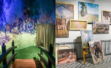 Saiba tudo sobre a exposição 'Paisagens Impressionistas de Monet', em cartaz no Shopping Pátio Higienópolis