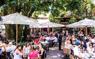 30 restaurantes com ambientes ao ar livre em São Paulo