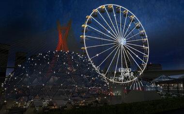 Jantar em roda gigante com vista para a Ponte Estaiada chega a São Paulo em outubro; saiba tudo!