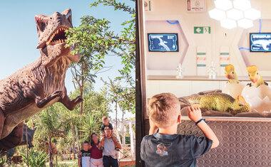 Vale dos Dinossauros de Olímpia é opção de passeio próximo a São Paulo para toda a família