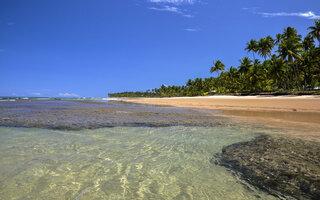 Praia de Taipu de Fora, Península de Maraú (Bahia)