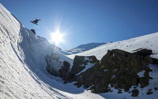 Snowboard em Corralco