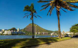 Dar a volta completa na Lagoa Rodrigo de Freitas
