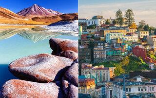 CHILE: ATACAMA E VALPARAÍSO