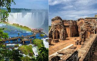 PARAGUAI: CATARATAS DO IGUASSU E RUÍNAS SANTÍSSIMA TRINDADE