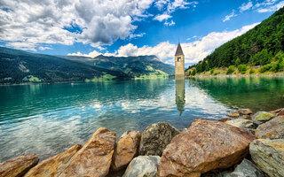 Lago Reschen, Bolzano | Itália