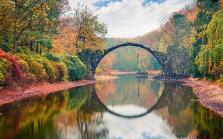 Rakotzbrücke, Kromlau | Alemanha