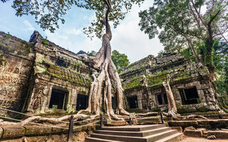 Angkor Wat, Cambodja   Lara Croft: Tom Raider