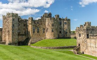 Alnwick Castle, Northumberland   Harry Potter
