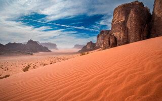 Wadi Rum, Jordânia   Perdido em Marte