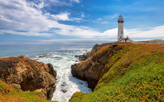 Pigeon Point Lighthouse   EUA