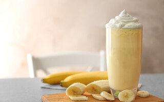 Milk Shake de Banana com Nutella