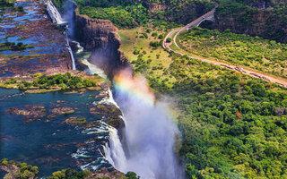 Victoria Falls   Zâmbia e Zimbabwe