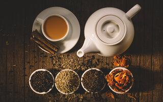 Chá indiano com especiarias