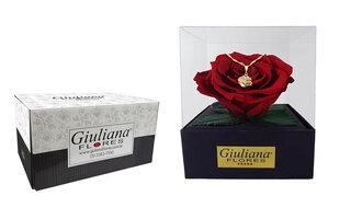 Rosê Preservada Luxo Vermelha