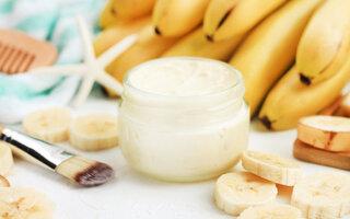 Creme de banana e mel para os cabelos
