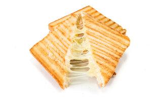 Queijo Quente com queijo branco e banana
